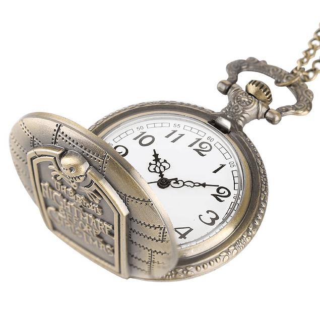 Reloj De Bolsillo Nightmare Before Christmas