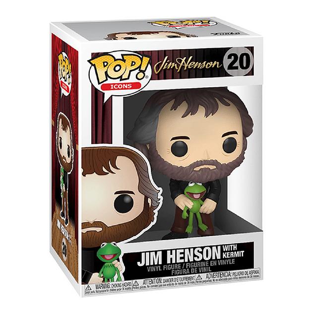 Jim Henson With Kermit Funko Pop Icons 20