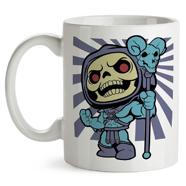 Mug Skeletor Tipo Pop