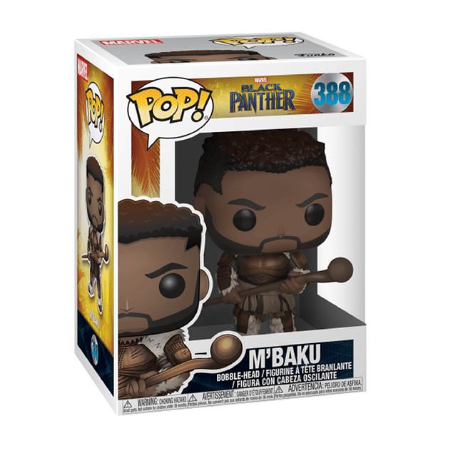 MBaku Funko Pop Black Panther Marvel 388