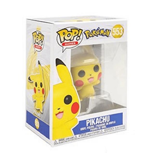 Pikachu Funko Pop Pokemon 553