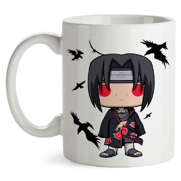 Mug Itachi Naruto Tipo Pop