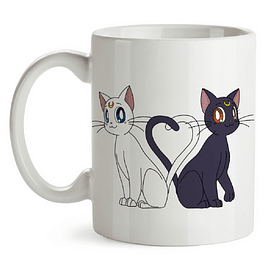 Mug Luna Y Artemis Sailor Moon