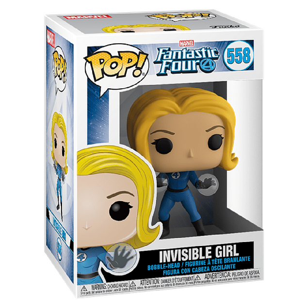 Invisible Girl Funko Pop Fantastic Four 558