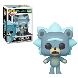 Teddy Rick Funko Pop Rick And Morty 662
