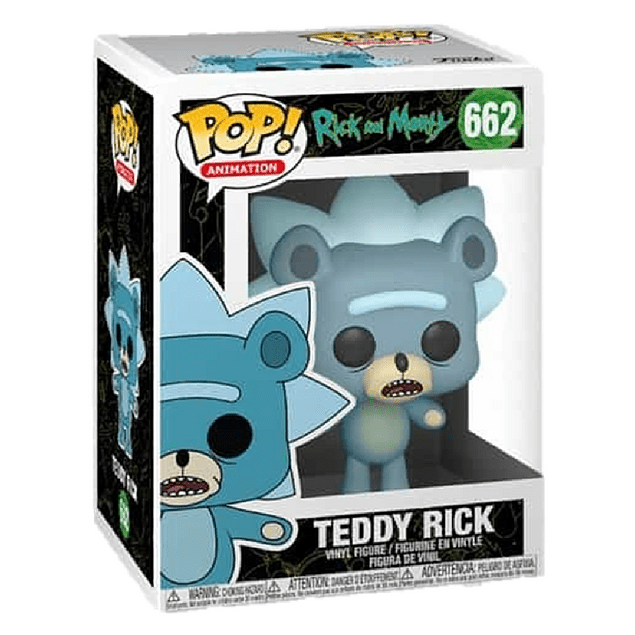 Teddy Rick Funko Pop Rick And Morty 662