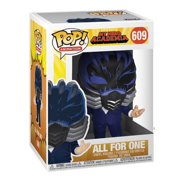 All For One Funko Pop My Hero Academia 609