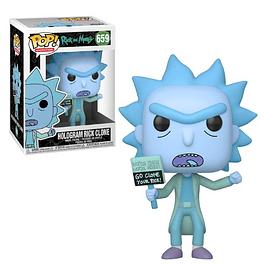 Hologram Rick Clone Funko Pop Rick And Morty 659
