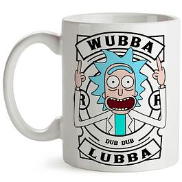 Mug Rick Wubba Lubba Dub Dub Rick And Morty