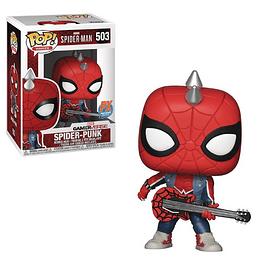 Spider Punk Funko Pop Marvel 503 PX