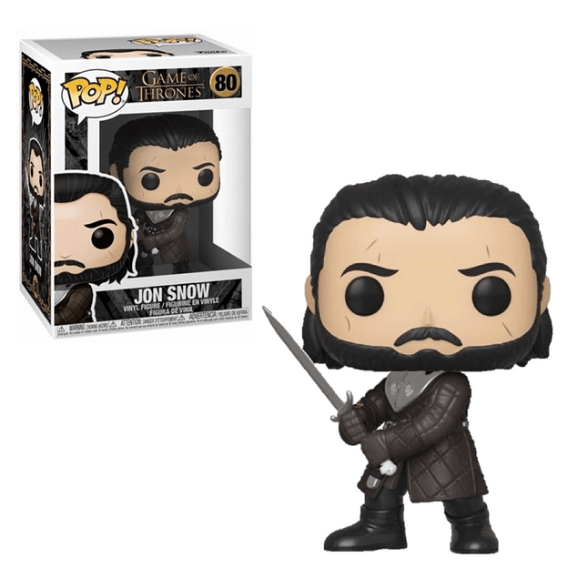 Jon Snow Funko Pop Game Of Thrones 80