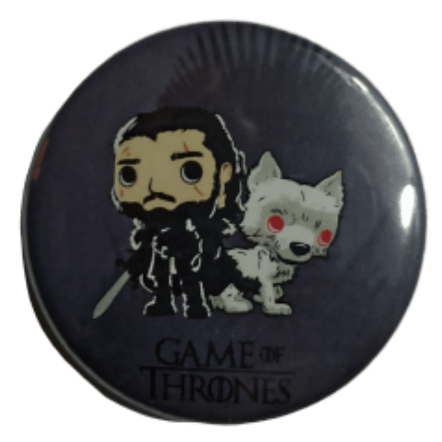 Jon Snow Botón Pinback
