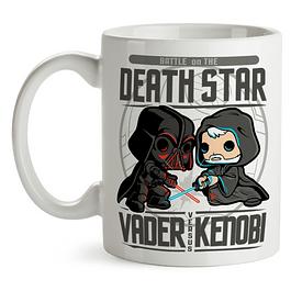 Mug Darth Vader Versus Obi Wan Kenobi