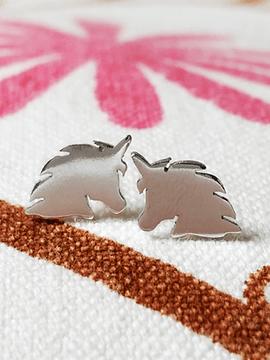 Aretes Niñas Unicornios