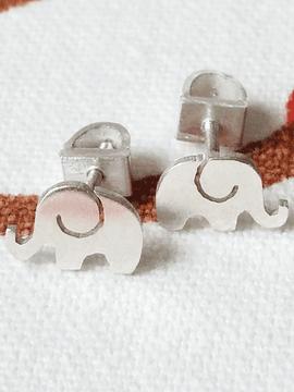 Aretes Niñas Elefantes
