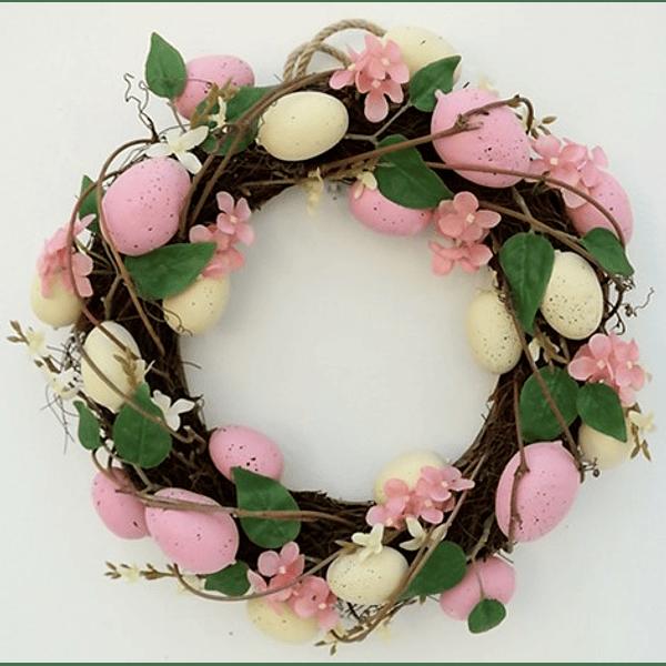 Coroa de Ovos Rosa