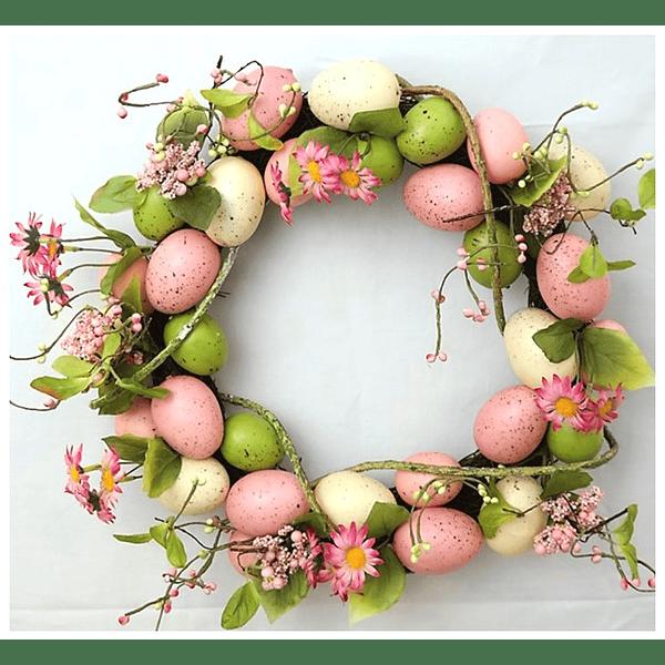 Coroa de Ovos c/ Flores
