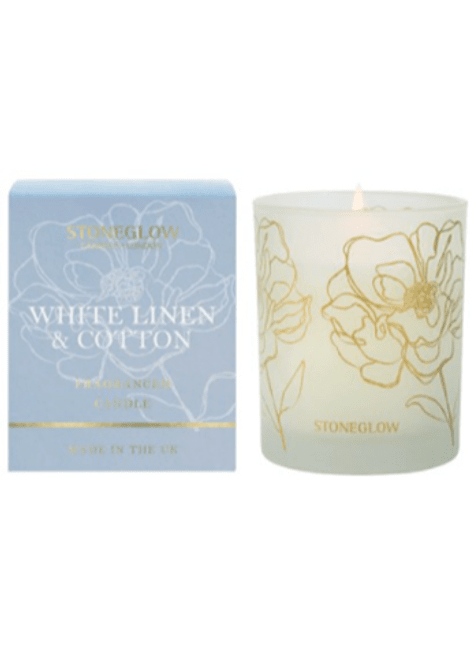 Vela Perfumada White Line & Conton