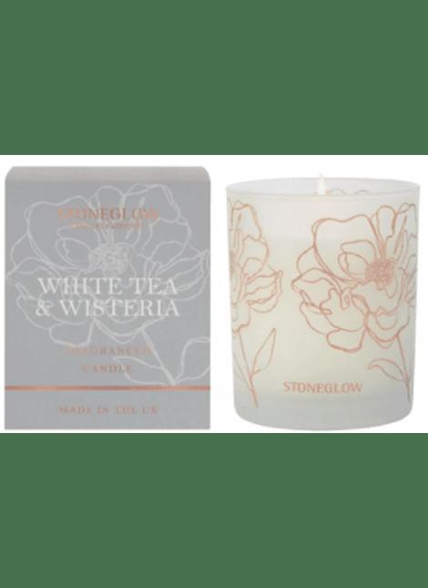 Vela Perfumada White Tea & Wisteria
