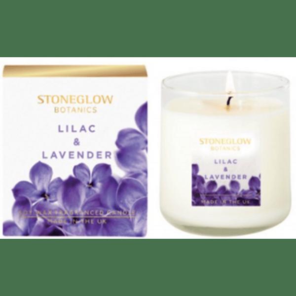 Vela Perfumada Botanic Lilac & Lavender