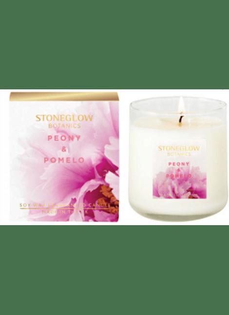 Vela Perfumada Botanic Peony & Pomelo