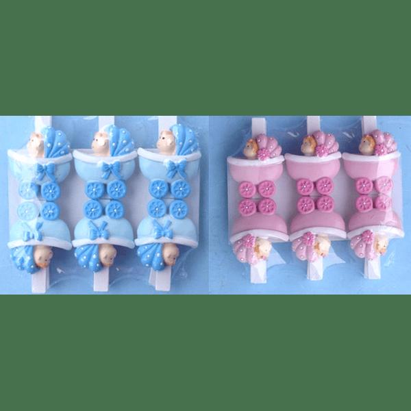 Embalagem c/6 Molas Berço bebe