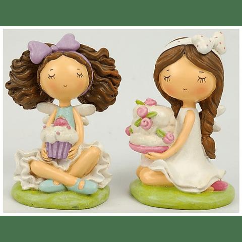 Conjunto duas Meninas Cake