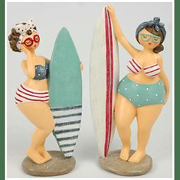 Conjunto Duas Meninas Surf.
