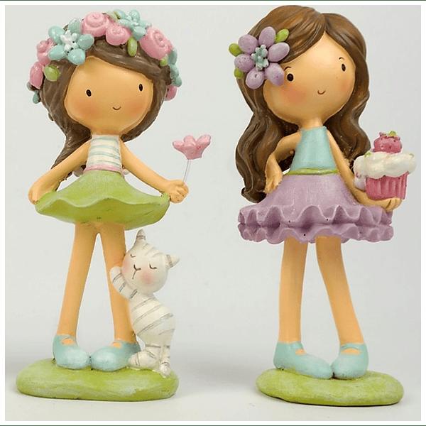 Conjunto Duas Meninas Primavera