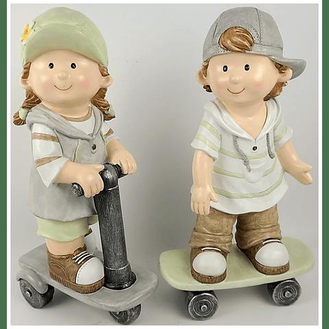 Conjunto dois Meninos skate