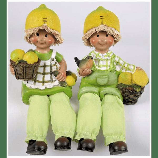 Conjunto dois Meninos Limões