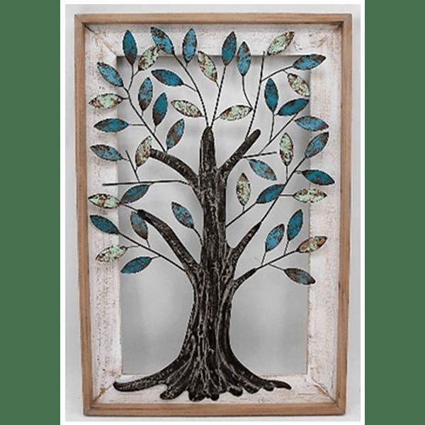 Quadro árvore metal