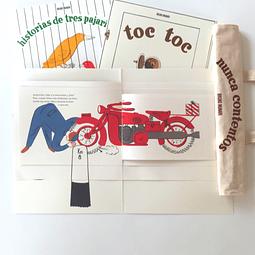 Pack #2 - Tres libros pop up + bolsa estampada + envío gratis