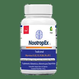 NootropEx 60 cápsulas vegetales + ENVÍO GRATIS IV a VIII Región