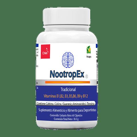 NootropEx 60 cápsulas vegetales