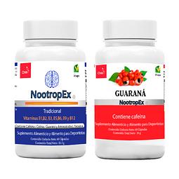 NootropEx Tradicional  + Guaraná 60 cápsulas