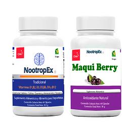 NootropEx Tradicional + Maqui Berry + ENVÍO GRATIS INCLUIDO IV a VIII Región
