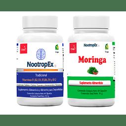 NootropEx Tradicional + Moringa (Envío Incluido de IV a VIII Región)