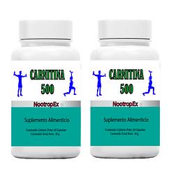 Pack x 2 CARNITINA 500 NootropEx  (ENVÍO NO INCLUIDO)