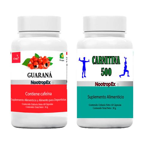 Pack Guaraná 350 + CARNITINA 500 (ENVÍO NO INCLUIDO)