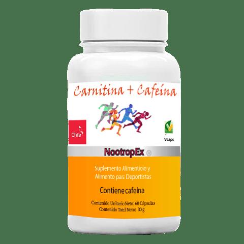 Carnitina + Cafeína NootropEx  (ENVÍO NO INCLUIDO)