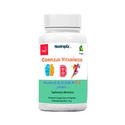 Complejo Vitamínico B 60 cápsulas vegetales de 400 mg (ENVÍO NO INCLUIDO)