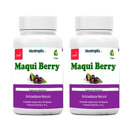 2 Maqui Berry 500 mg cápsulas Vegetales (ENVÍO NO INCLUIDO)
