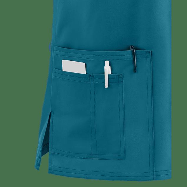 CHEROKEE CORE STRETCH - POLERA HOMBRE UNISEX #4725 CARIBBEAN BLUE