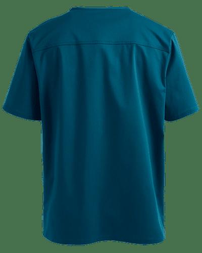 CHEROKEE CORE STRETCH - POLERA HOMBRE #4743 CARIBBEAN BLUE
