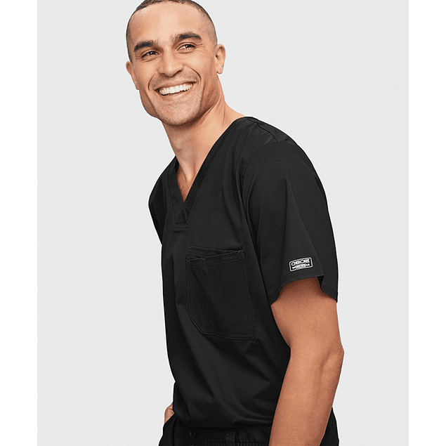 CHEROKEE CORE STRETCH - POLERA HOMBRE #4743 BLACK