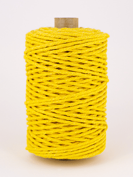 Yellow baker twine