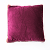 Cojín Velvet Bicolor
