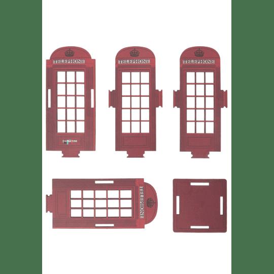 Portalápiz cabina teléfono inspirations