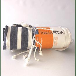 Toalla fouta 100% algodon